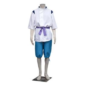 Spirited Away Haku Cosplay Costume