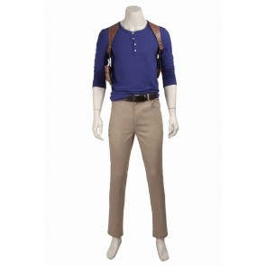 Uncharted 4: A Thief's End Nathan Drake Cosplay Costume