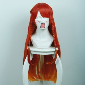Orange 80cm Re:Creators Selesia Yupitiria Cosplay Wig