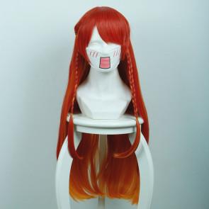 Orange 80cm Re:Creators Selesia Yupitiria Cosplay Wig