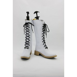Amnesia Heroine White Cosplay Boots