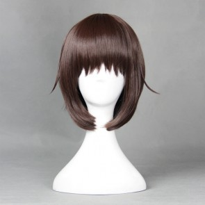 Brown 40cm My Wife is the Student Council President Ui Wakana Cosplay Wig