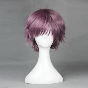 Purple 35cm Ranpo Kitan: Game of Laplace Hashiba Cosplay Wig