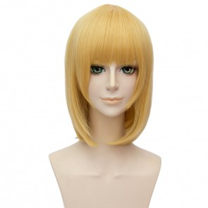 Yellow 30cm Akashic Records of Bastard Magic Instructor Rumia Tingel Cosplay Wig