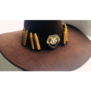 Overwatch Mccree Hat Cosplay Accessory