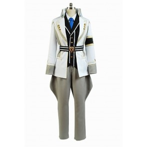 Kamigami no Asobi: Ludere deorum Tsukito Totsuka Cosplay Costume (with White Coat)