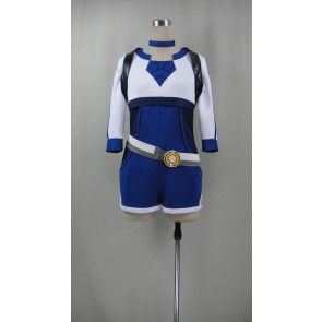 Pokemon Go Female Trainer Blue Cosplay costume