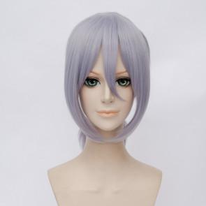 Grey 45cm Food Wars!: Shokugeki no Soma Akira Hayama Cosplay Wig