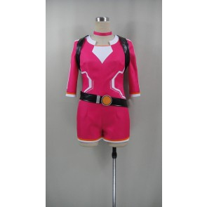 Pokemon Go Female Trainer Red Cosplay costume