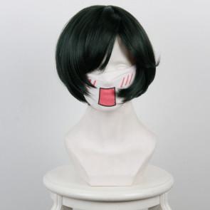 Green 30cm Hell Girl Michiru Cosplay Wig