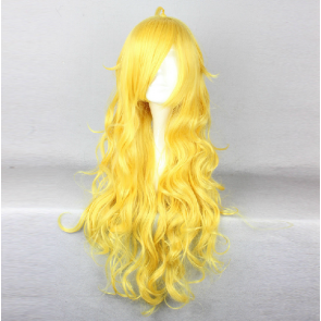 Yellow 80cm RWBY Yang Xiao Long Yellow Cosplay Wig