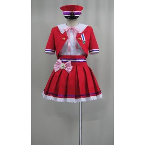 The Idolmaster Cinderella Girls Uzuki Shimamura New Generations Cosplay Costume