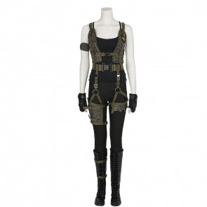 2017 Movie Resident Evil: The Final Chapter Alice Cosplay Costume