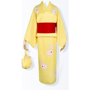 Gintama Kagura Bathrobe Cosplay Costume