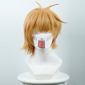 Yellow 30cm Little Witch Academia Lotte Yanson Cosplay Wig