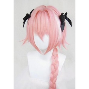 Pink Fate/Apocrypha Astolfo Rider of Black Cosplay Wig
