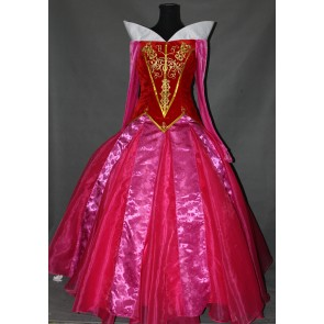 Deluxe Sleeping Beauty Aurora Princess Dress Cosplay Costume