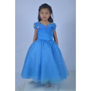 Cinderella Princess Children Cosplay Dress 2015 Edition