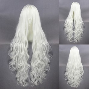 White 100cm Kagerou Project Shion Kozakura Cosplay Wig