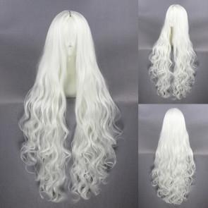 White 100cm Kagerou Project Shion Kozakura Cosplay Wig
