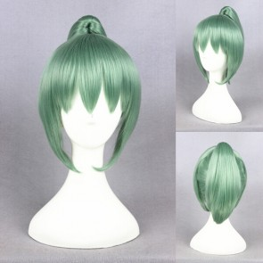 Green 32cm Kantai Collection Yubari Cosplay Wig