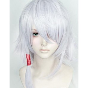 Silver Kado: The Right Answer Yaha-kui zaShunina Cosplay Wig