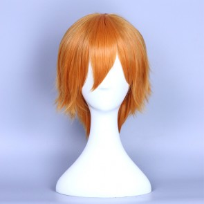 Orange 35cm Love Live! Honoka Kosaka Male Version Cosplay Wig