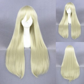 Gold 80cm Kantai Collection Shimakaze Cosplay Wig
