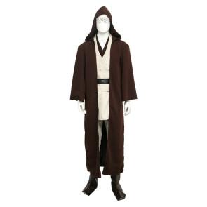 Star Wars Obi-Wan Kenobi Jedi Uniform Cosplay Costume