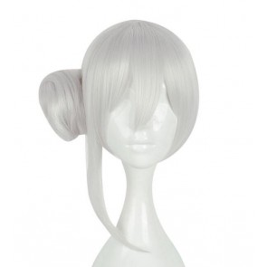 Silver 45cm SINoALICE Snow White Cosplay Wig