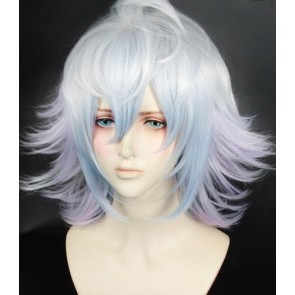 Silver 100cm Fate/Grand Order Merlin Cosplay Wig