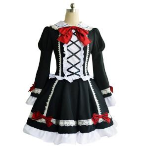 Date A Live Kurumi Tokisaki Lolita Dress Cosplay Costume