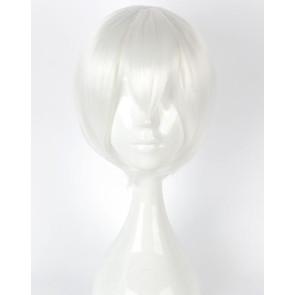 White 30cm Nier: Automata 9S Cosplay Wig