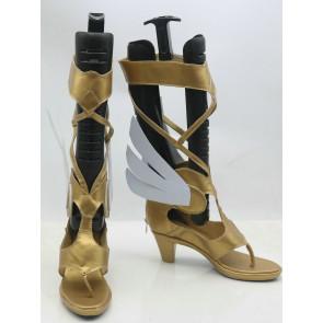 Overwatch Mercy Angela Ziegler Cosplay Shoes