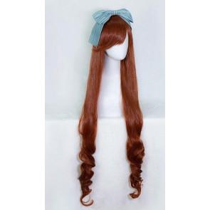 Brown 120cm Rozen Maiden 15th Anniversary Suiseiseki Cosplay Wig
