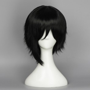 Black 35cm Love Live! Nico Yazawa Male Version Cosplay Wig