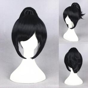 Black 32cm Touken Ranbu Yamatonokami Yasusada Cosplay Wig