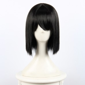 Black 35cm Your Name (Kimi no Na wa) Mitsuha Miyamizu Cosplay Wig