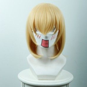 Yellow 35cm Akashic Records of Bastard Magic Instructor Lumia Tingel Cosplay Wig