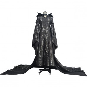 Disney Maleficent (2014) Movie Cosplay Costume