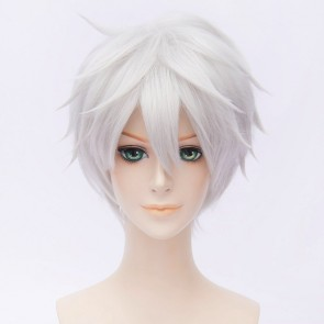 Silver 30cm Touken Ranbu Nakigitsune Cosplay Wig