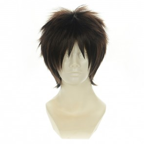 Brown 35cm Your Name (Kimi no Na wa) Taki Tachibana Cosplay Wig