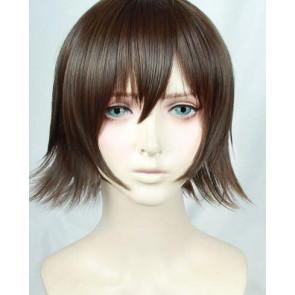 Brown 30cm Final Fantasy XV Iris Amicitia Cosplay Wig