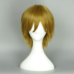 Blonde 35cm Love Live! Hanayo Koizumi Male Version Cosplay Wig