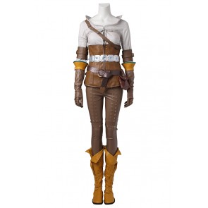 The Witcher 3: Wild Hunt Cirilla Cosplay Costume