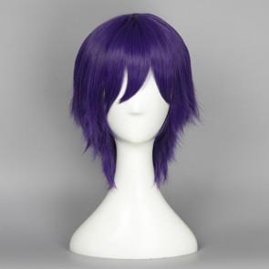 Purple 35cm Love Live! Nozomi Tojo Male Version Cosplay Wig