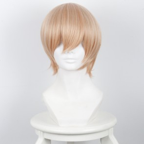 Light Gold 33cm Scum's Wish Kuzu no Honkai Mugi Awaya Cosplay Wig