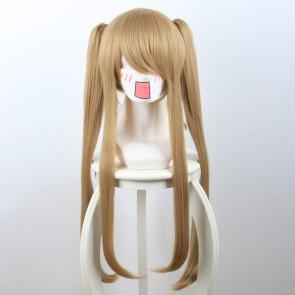 Light Brown 70cm Scum's Wish Kuzu no Honkai Noriko Kamomebata Cosplay Wig