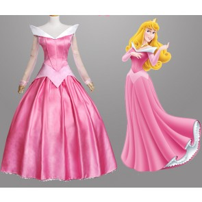 Sleeping Beauty Princess Aurora Dress Cosplay Costume