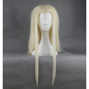 Golden 78cm The Hobbit Thranduil Cosplay Wig